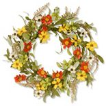 """National Tree Company 20"""" Garden Accents Elegant Artificial Floral Wreath"""