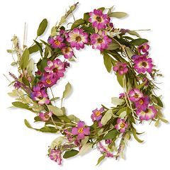 National Tree Company 20' Garden Accents Elegant Artificial Floral Wreath