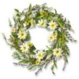 "National Tree Company 20"" Garden Accents Elegant Artificial Floral Wreath"
