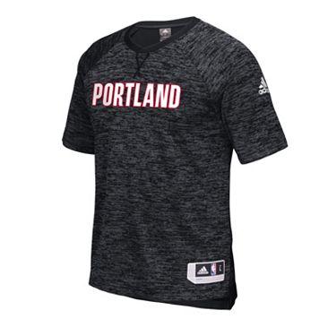 Men's adidas Portland Trail Blazers On Court Shooter Tee