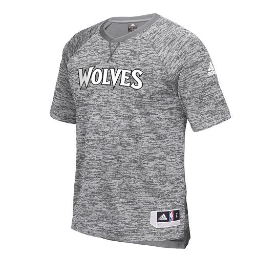 Men's adidas Minnesota Timberwolves On Court Shooter Tee