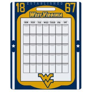 West Virginia Mountaineers Dry Erase Calendar