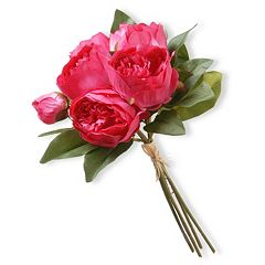 National Tree Company 12' Artificial Peony Bouquet