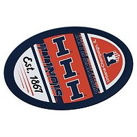 Illinois Fighting Illini Jumbo Game Day Magnet