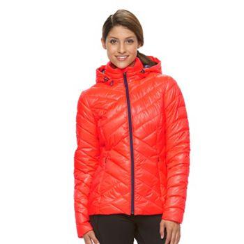 Tek Gear Hooded Packable Puffer Women's Jacket