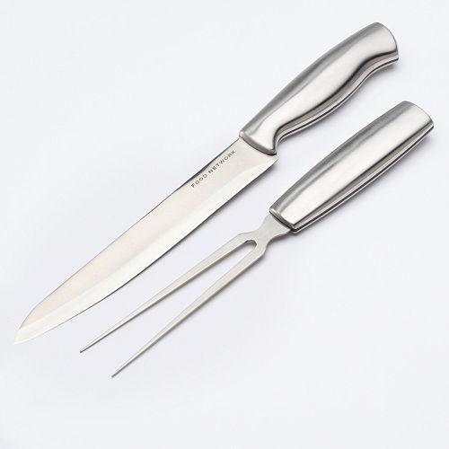 Food Network™ 2-pc. Carving Knife & Fork Set