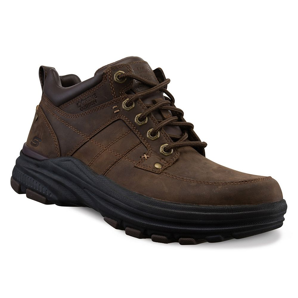 c16f6dd739f4 Skechers Relaxed Fit Holdren Lender Men s Boots