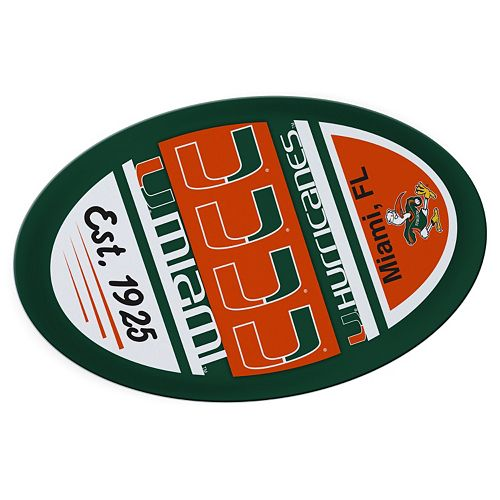 Miami Hurricanes Jumbo Game Day Magnet