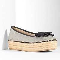 Simply Vera Vera Wang Women's Platform Espadrille Shoes