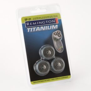 Remington Titanium SP-21 Shaver Replacement Heads and Cutters