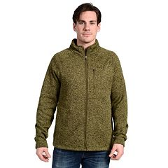 Men's Stanley Classic-Fit Sweater-Fleece Jacket