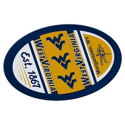 West Virginia Mountaineers Jumbo Game Day Magnet