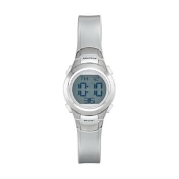 Armitron Women's Sport Digital Chronograph Watch - 45/7012SIL