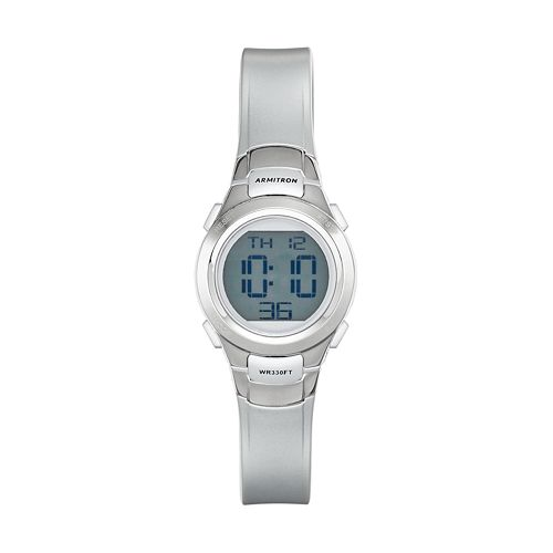 Armitron Women's Sport Digital Chronograph Watch - 45/7012SIL
