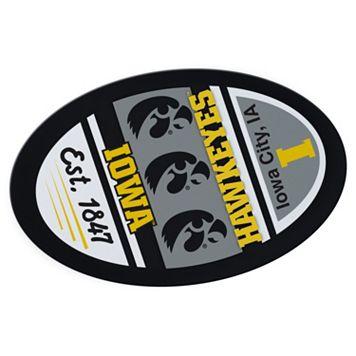 Iowa Hawkeyes Jumbo Game Day Peel & Stick Decal