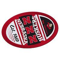 Nebraska Cornhuskers Jumbo Game Day Peel & Stick Decal