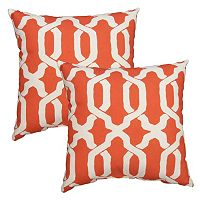 Plantation Patterns Ogee Throw Pillow 2 pc Set