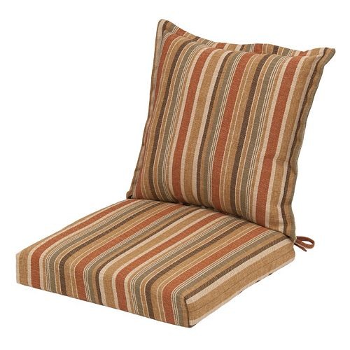 Plantation Patterns Outdoor Back Pillow Dining Chair 2 ...