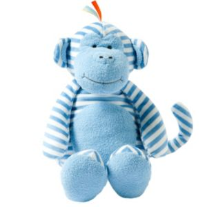 giggle Striped Plush Animal Toy