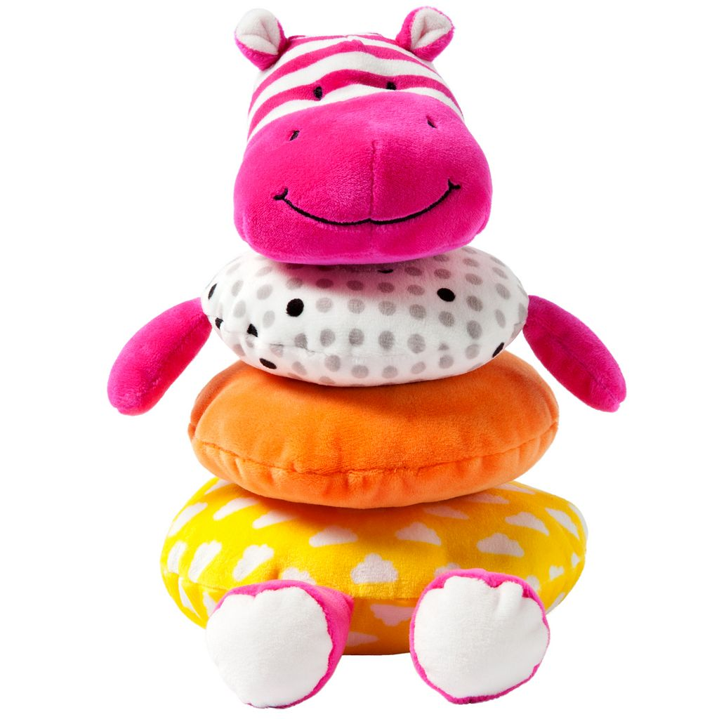 giggle Plush Hippo Stacker Toy