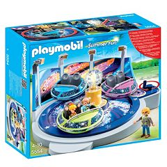 Playmobil Spinning Spaceship Ride with Lights Playset 5554 by