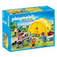 Playmobil Family Camping Trip Playset - 5435