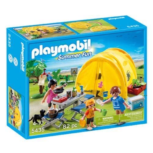 Playmobil Family Camping Trip Playset - 5435