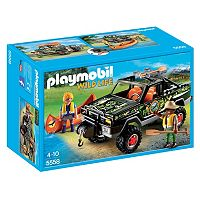 Playmobil Adventure Pickup Truck Playset - 5558