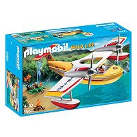 Playmobil Firefighting Seaplane Playset - 5560