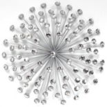 Stratton Home Decor 24-in. Acrylic Burst Wall Art
