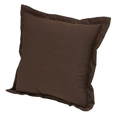 Plantation Patterns Espresso Texture Deep Seating Back Pillow