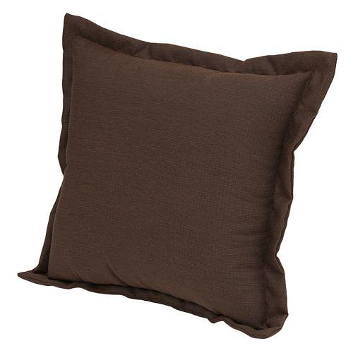 Plantation Patterns Espresso Texture Deep Seating Back Pillow