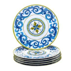 Certified International Blue Grotto 6-pc. Dinner Plate Set