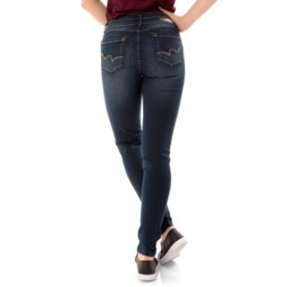 Juniors' Wallflower Legendary Curvy Low Rise Skinny Jeans