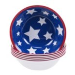 Certified International Stars & Stripes 6-pc. All-Purpose Bowl Set