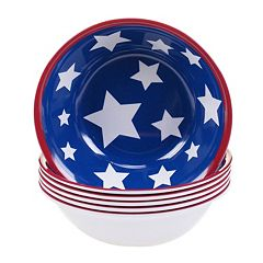 Certified International Stars & Stripes 6 pc All-Purpose Bowl Set