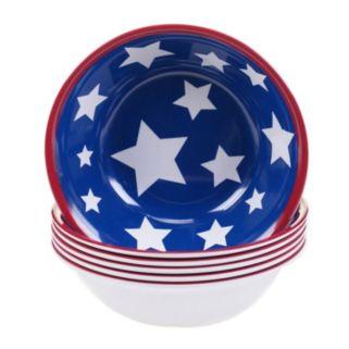 Certified International Stars & Stripes 6-pc. All-Purpose Bowl Set