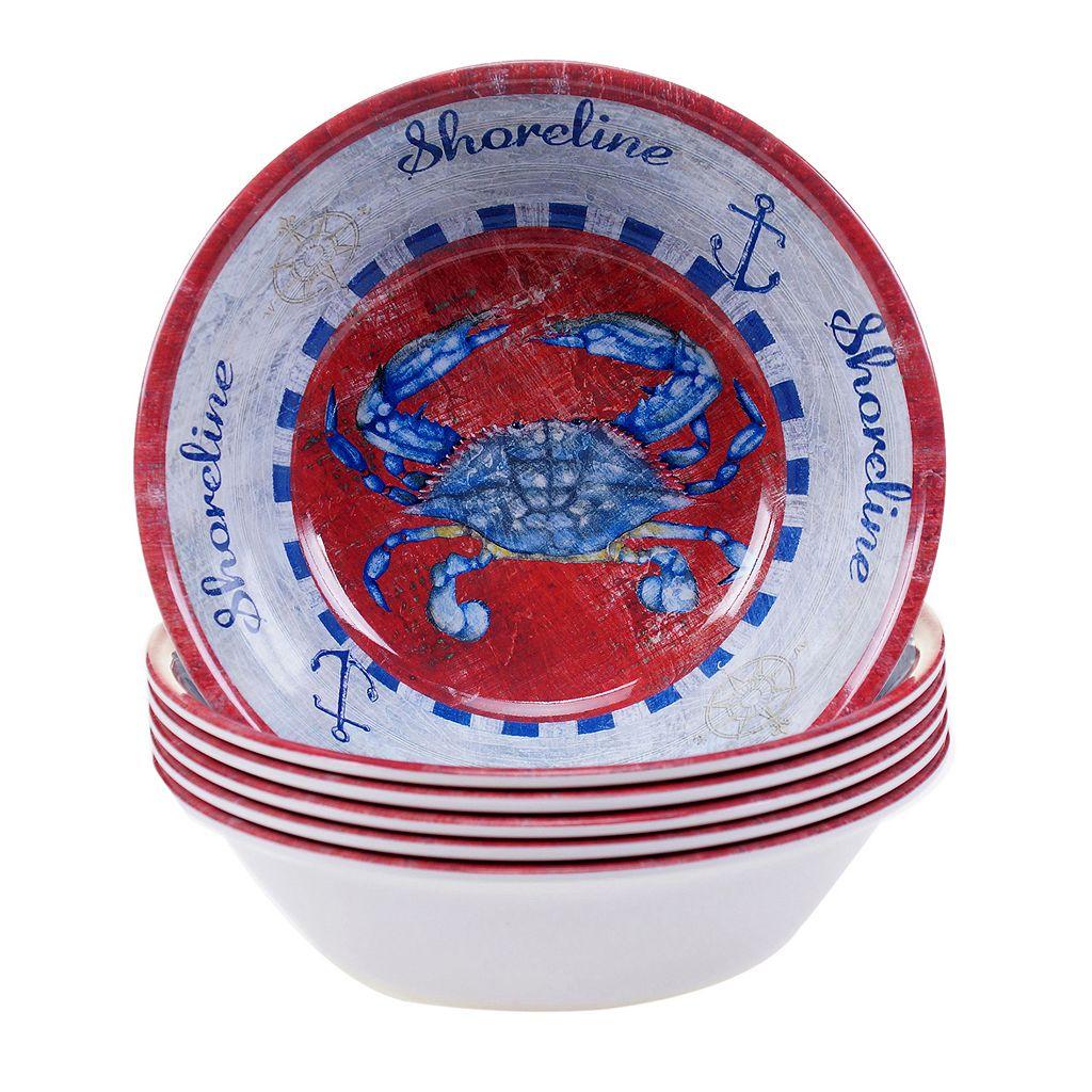 Certified International Maritime 6-pc. All-Purpose Bowl Set
