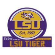 LSU Tigers Jumbo Tailgate Magnet