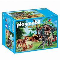 Playmobil Lynx Family with Cameraman Playset - 5561