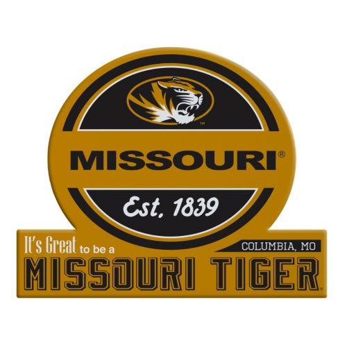 Missouri Tigers Jumbo Tailgate Magnet