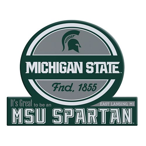 Michigan State Spartans Jumbo Tailgate Magnet