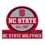 North Carolina State Wolfpack Jumbo Tailgate Magnet