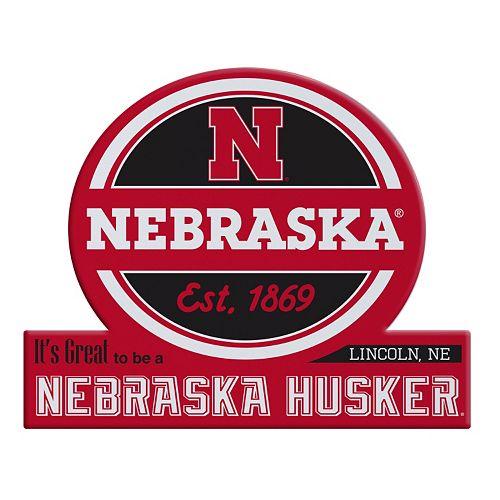 Nebraska Cornhuskers Jumbo Tailgate Magnet