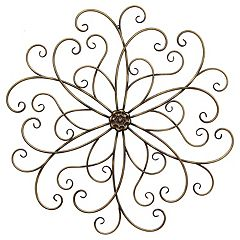 Stratton Home Decor Classic Medallion Wall Art