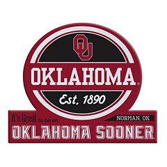 Oklahoma Sooners Jumbo Tailgate Magnet