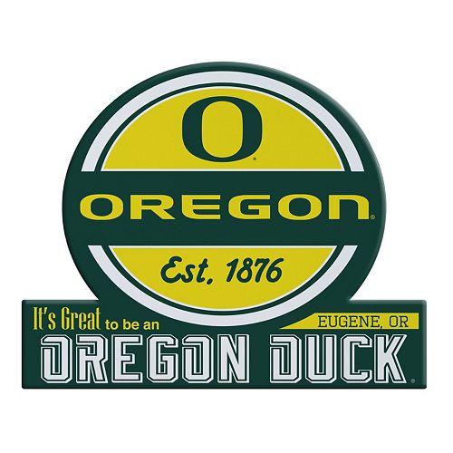 Oregon Ducks Jumbo Tailgate Magnet