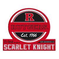 Rutgers Scarlet Knights Jumbo Tailgate Magnet
