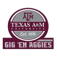 Texas A&M Aggies Jumbo Tailgate Magnet