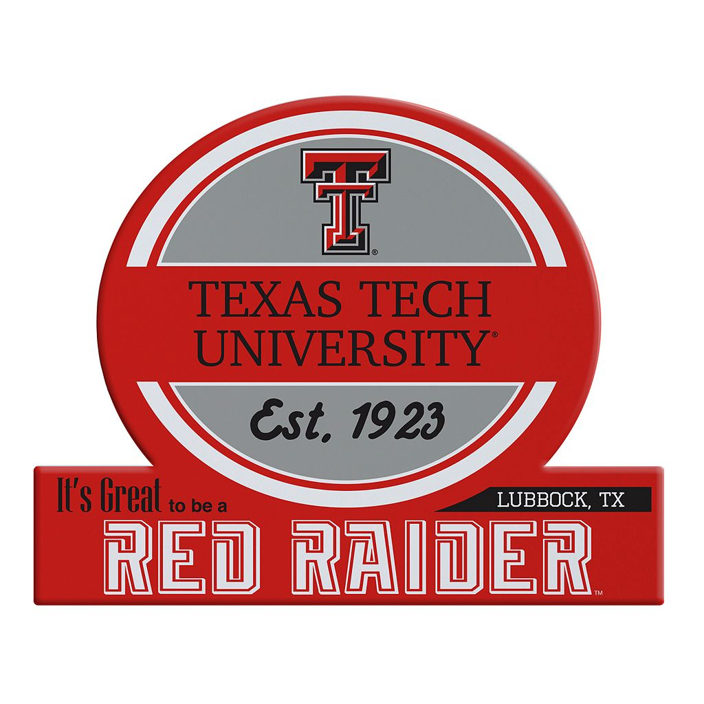 Texas Tech Red Raiders Jumbo Tailgate Magnet